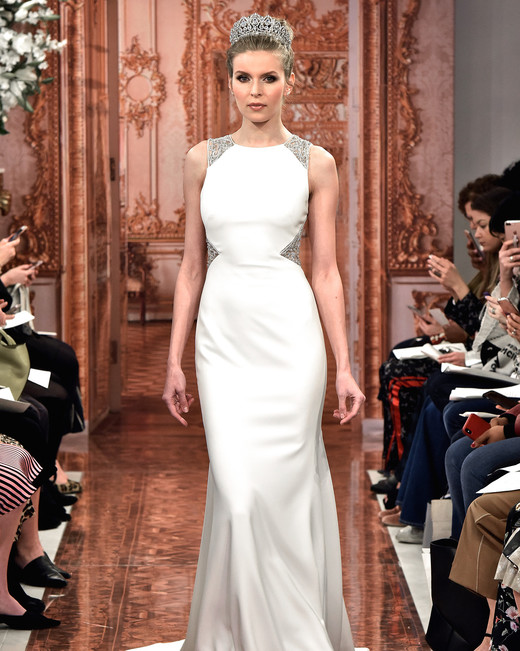 theia wedding dress spring 2019 high-neck beadwork details