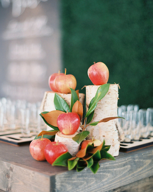 apple wedding ideas sarah kate
