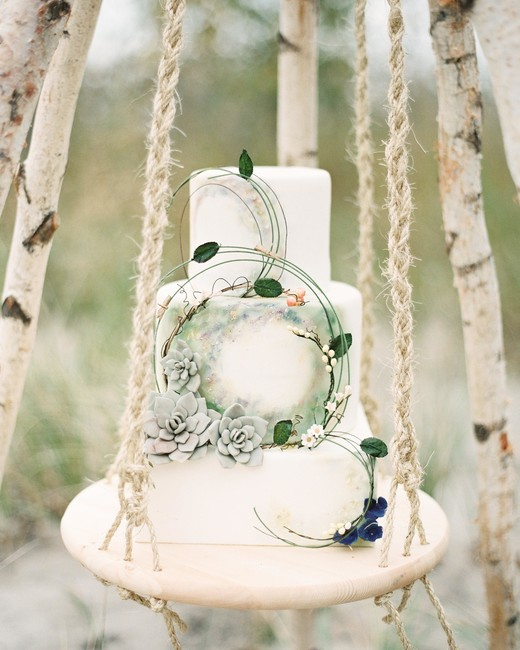 wedding cake hoop