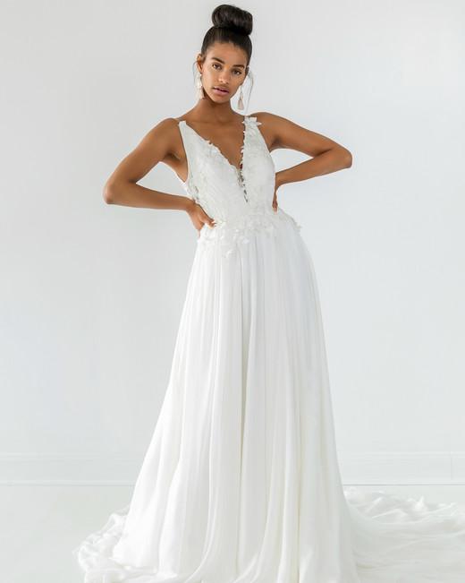 ivy aster dress fall 2018 v-neck sleeveless a-line