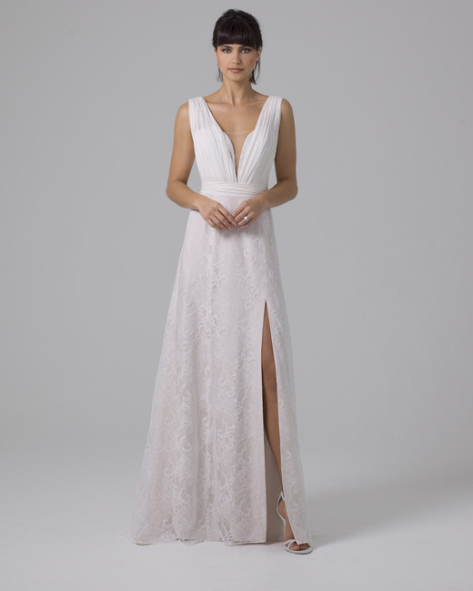 Liancarlo lace wedding dress fall 2019