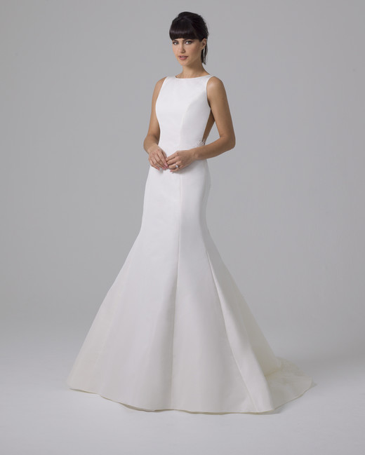 Liancarlo satin trumpet wedding dress fall 2019