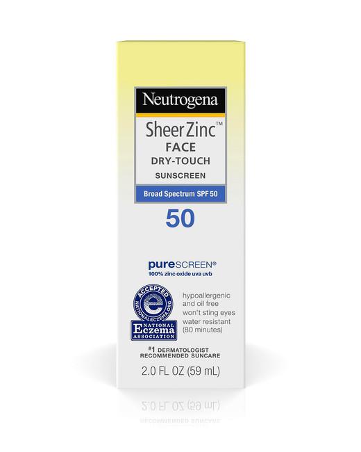 physical sunscreens neutrogena