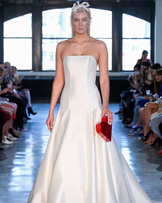 watters wedding dress spring 2019 strapless a-line