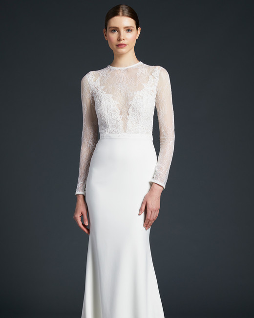anne barge illusion sweetheart wedding dress fall 2019