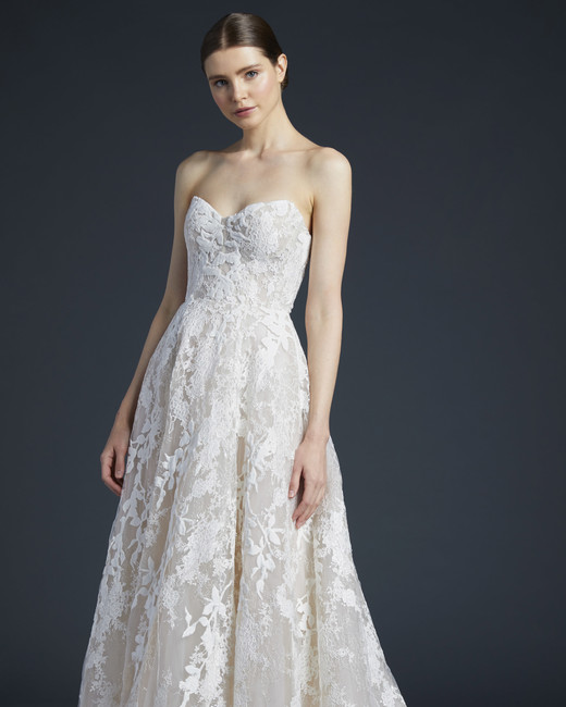 anne barge lace sweetheart wedding dress fall 2019