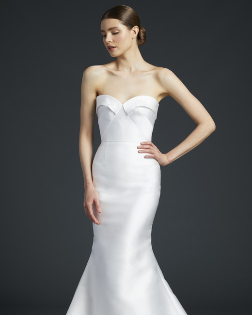 anne barge sheath trumpet wedding dress fall 2019