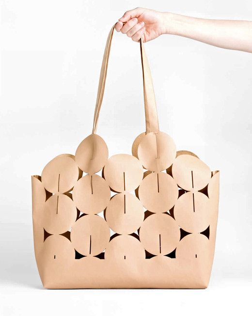 "Lee Coren ""Ciclo"" Bag in ""Tan"""
