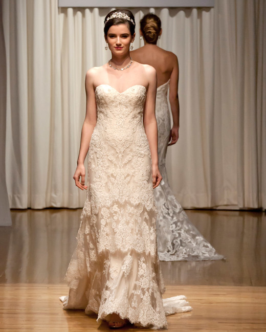 casablanca fall 2018 lace sweetheart wedding dress