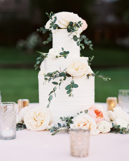 floral wedding cakes esther sun outdoor garden rose