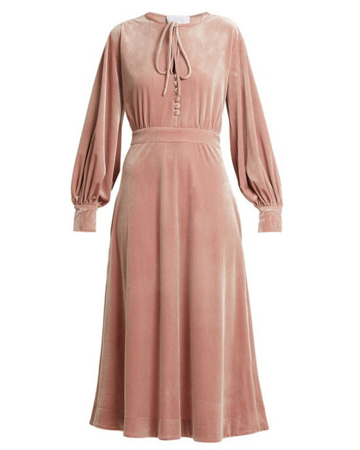 pink mob dresses luisa beccaria
