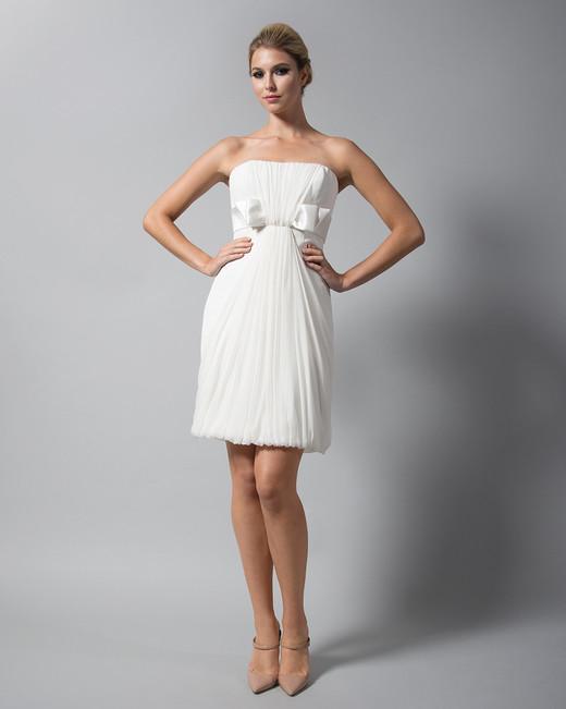 randi rahm short strapless wedding dress fall 2018