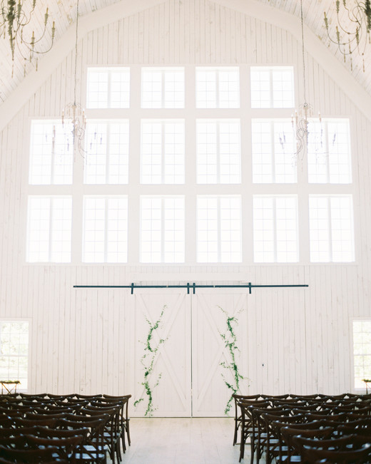 shakira travis wedding ceremony white barn