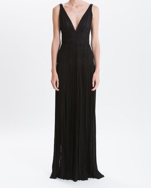 """J. Mendel """"Noir Mousseline"""" Gown"""