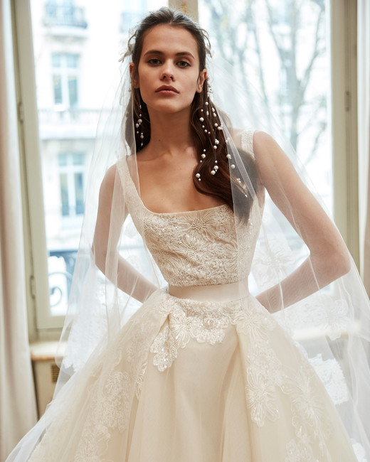 elie saab wedding dress spring 2019 sleeveless a-line embroidery