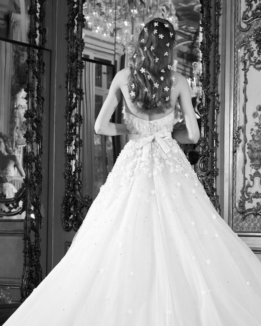 elie saab wedding dress spring 2019 strapless embellished bow