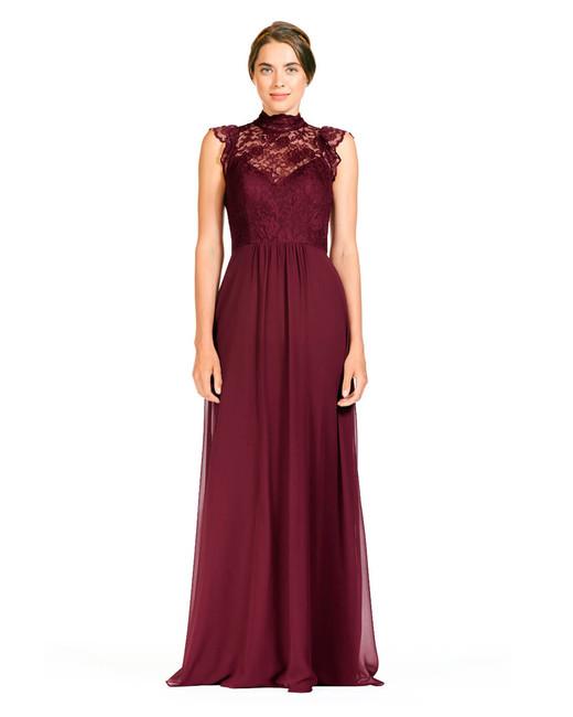 lace bridesmaid dresses bari jay