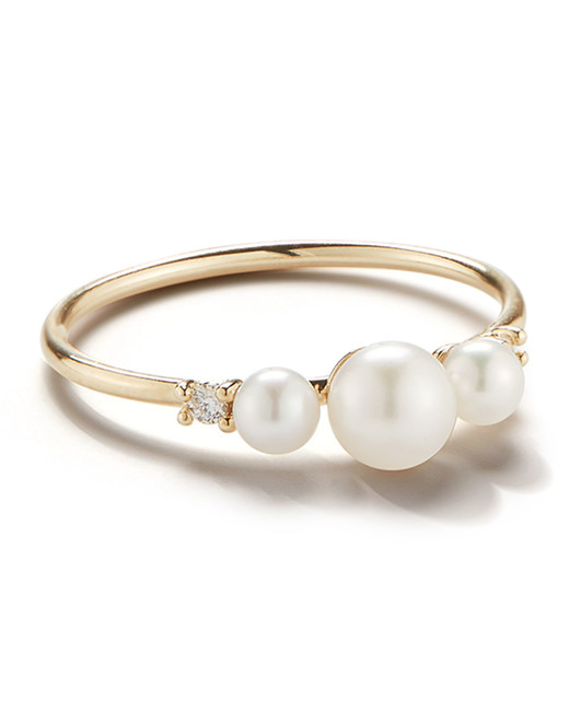 Pearl And Diamond Engagement Rings: 28 Pretty Pearl Engagement Rings