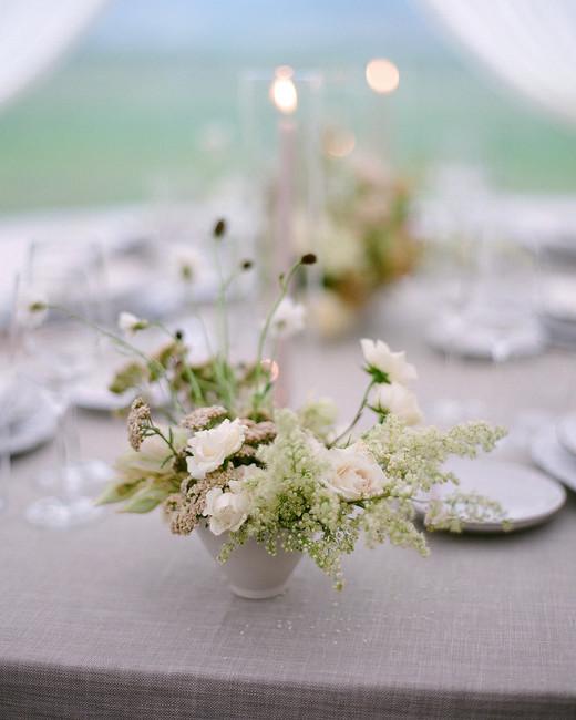 sloan scott wedding floral centerpieces