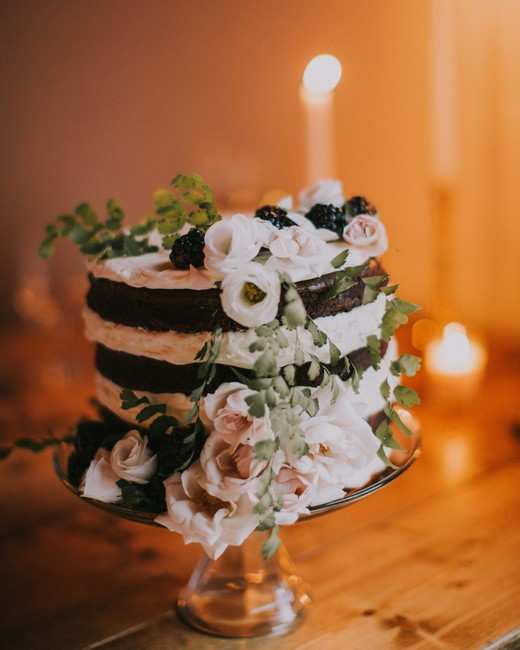 sofi ben camp wedding naked cake