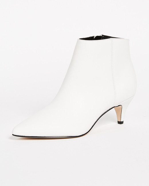 white bridal booties sam edelman kinzey heel