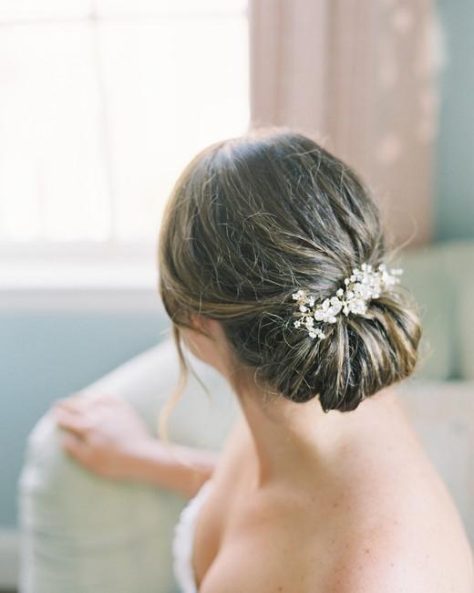 bride twig and honey hair vine