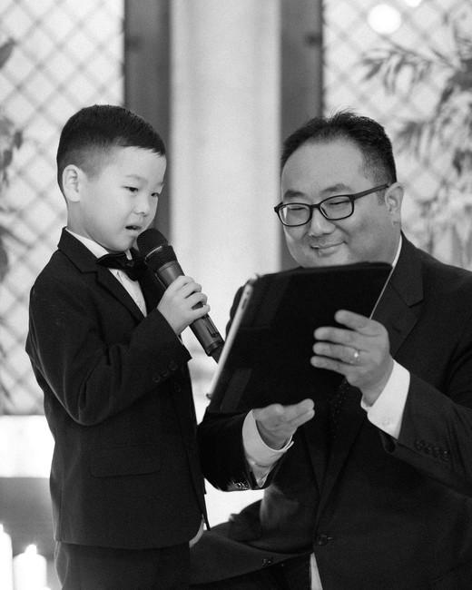 diana alex wedding boy speech