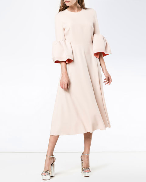 "roksanda ""turlin"" bell sleeve dress"