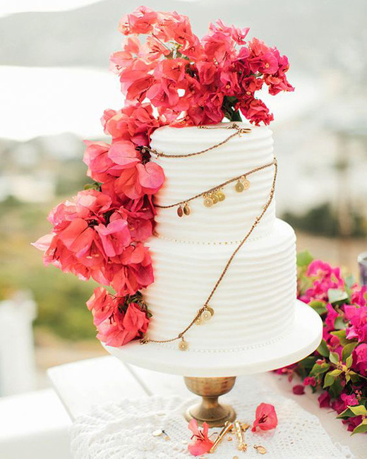 floral wedding cakes anna roussos mountain