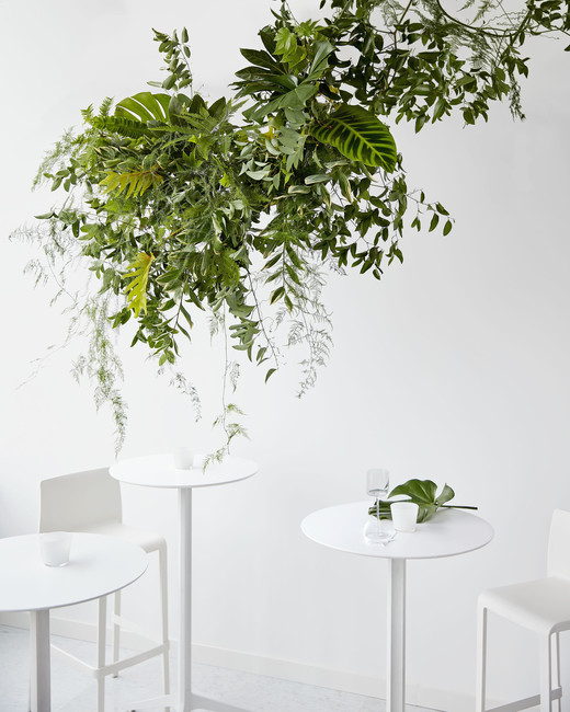 greenery hanging arrangement