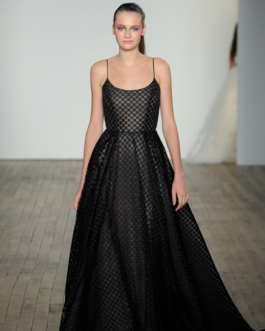 Black Wedding Gowns: Chic Black Wedding Dress For The Edgy Bride