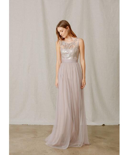 lace bridesmaid dresses amsale
