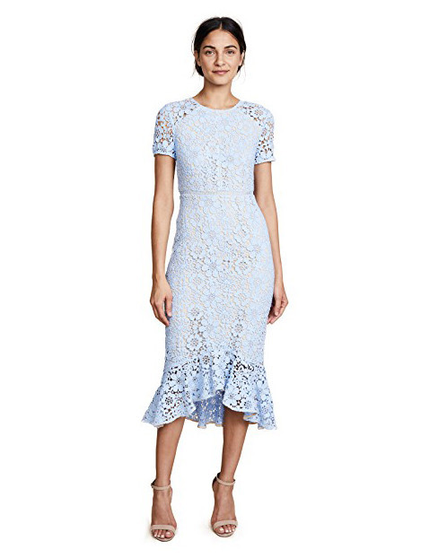 lace bridesmaid dresses shoshanna