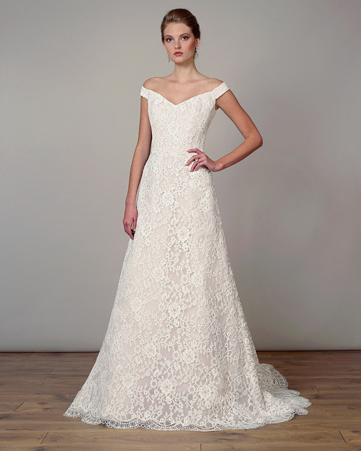 liancarlo wedding dress spring 2019 embroidered off-the-shoulder