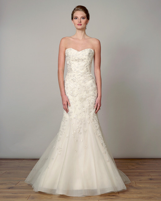 liancarlo wedding dress spring 2019 ivory trumpet with beadwork