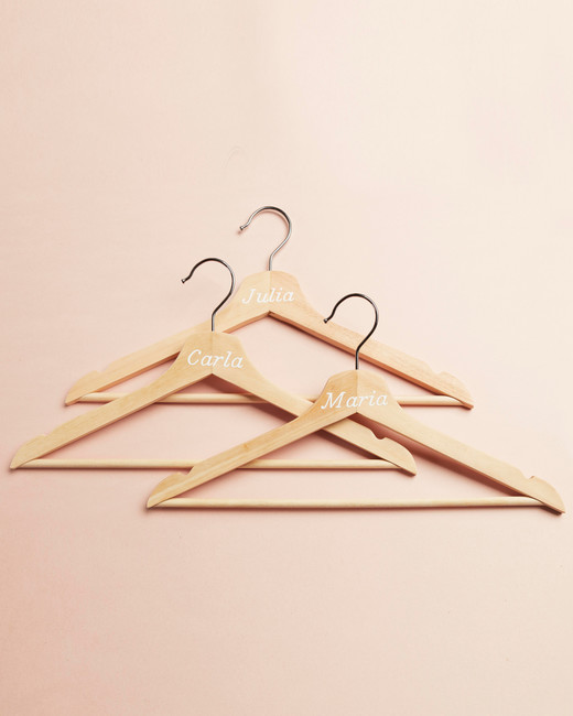 Design Space Personalized Bridesmaid Hangers