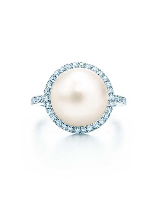 Tiffany & Co. South Sea Noble Pearl Ring