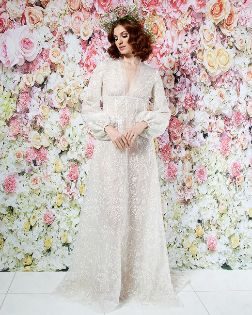 randi rahm wedding dress spring 2019 boho a-line bishop sleeves