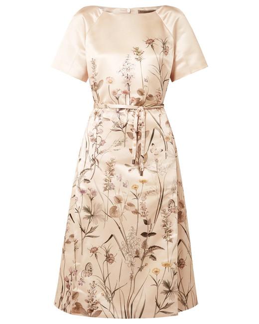 Bottega Veneta Printed Satin Dress