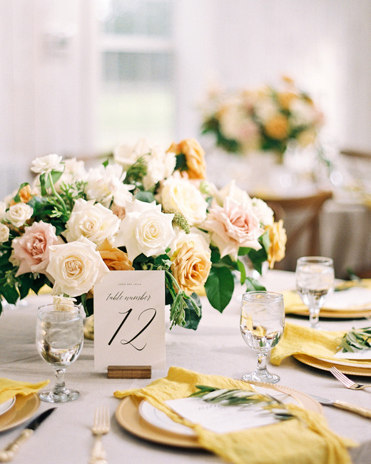 yellow wedding ideas kayla barker