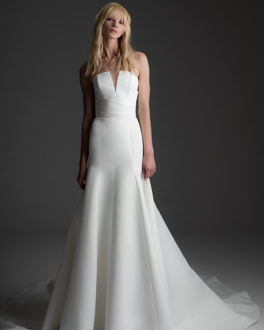 alyne rita vinieris fall 2019 notched strapless a-line gown