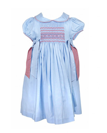 Luli & Me Smocked Dress