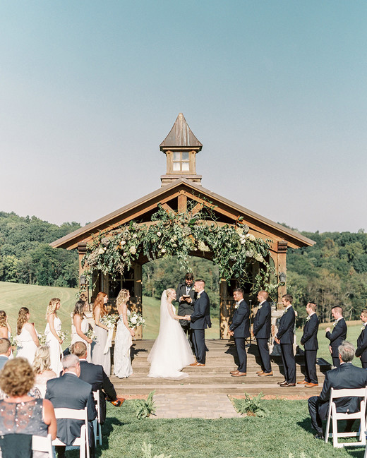 brewery wedding venues outdoor ceremony pavilion