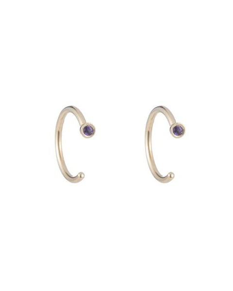 ariel gordon birthstone earrings