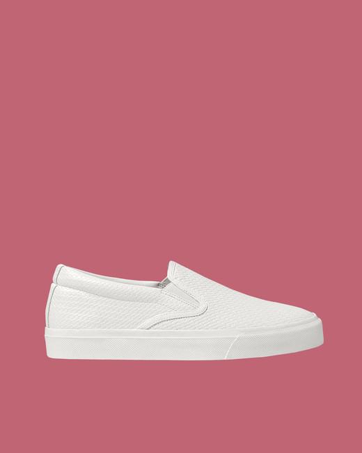Zara Embossed Sneakers