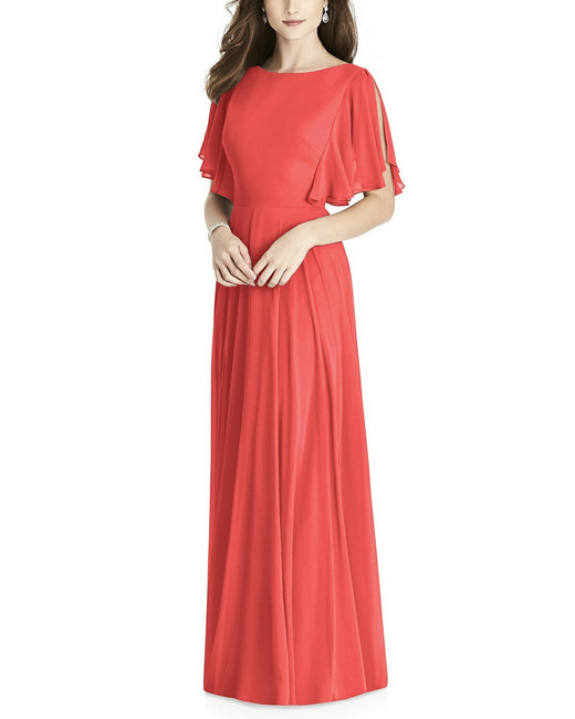 After Six Bridesmaid Dress 6778 in Firecracker