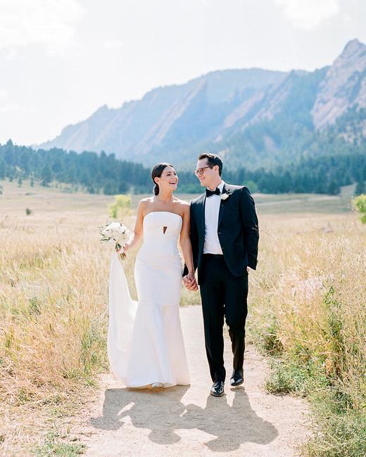 jamie jon wedding couple and mountains