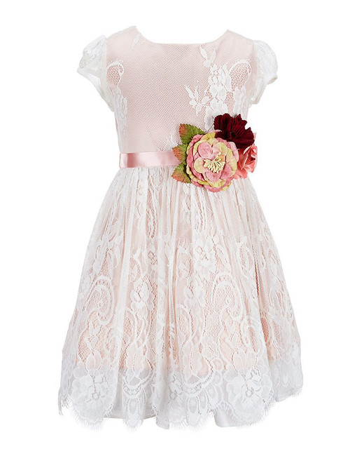 lace flower girl dresses chantilly