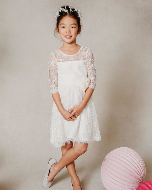 lace flower girl dresses jenny yoo