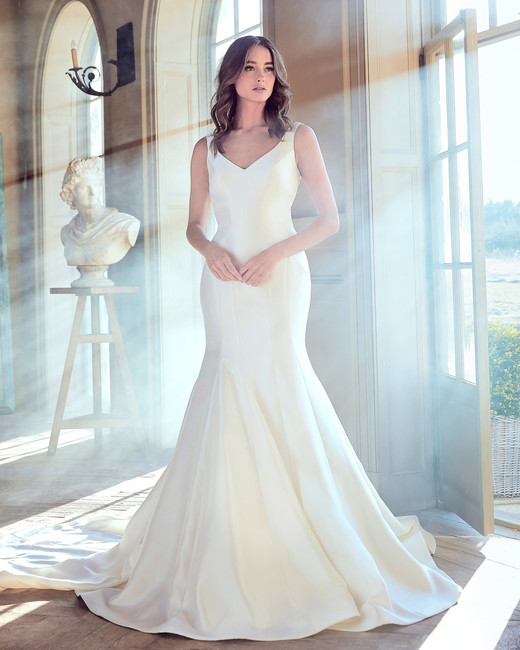 sareh nouri wedding dress spring 2019 sleeveless trumpet